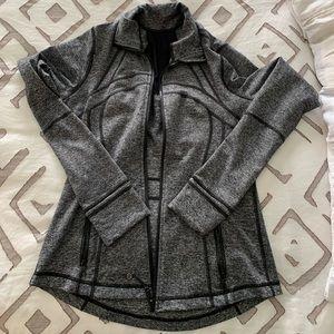 Lululemon Define Jacket Heathered Black 8
